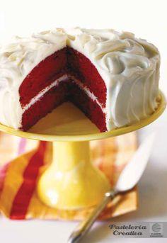 Fascículo 7 de Pastelería Creativa - Red Velvet Cake