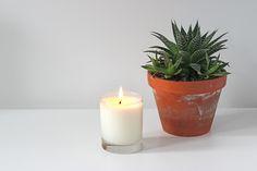 DIY bougie parfumée (regarder dans les commentaires pour les astuces et les idées de senteurs)
