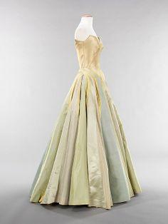 vintage dress 1947 #forties