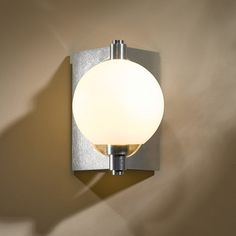 Pluto Vintage Platinum Small Wall Sconce