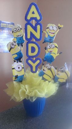 Despicable Me Centerpiece