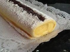 Lo más dulce de Sonia: Brazo de gitano de crema