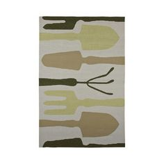 - Boldly scaled designs and a sun drenched color palette punctuate this rug. Crafted in durable hand-hooked material the playful rug is designed to handle the elements of the outdoors but can be used in any indoor space. Jaipur Rugs, Synthetic Rugs, Tool Sheds, Indoor Outdoor Area Rugs, Outdoor Spaces, Abstract Images, Green Pattern, Online Home Decor Stores, Rug Hooking
