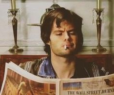 Bill Hader. I can honestly say I would not hesitate to say yes if I had the chance to marry this man.