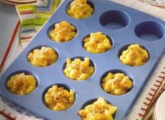 Cute little mac n cheese appetizer bites