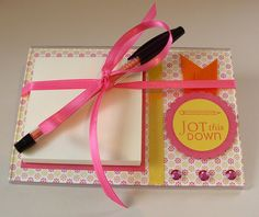 Acrylic Post It Note holders