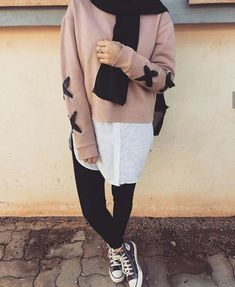 Gaye kıyafet - Another! Modern Hijab Fashion, Street Hijab Fashion, Hijab Fashion Inspiration, Muslim Fashion, Mode Inspiration, Hijab Casual, Hijab Chic, Casual Outfits, Fashion Outfits
