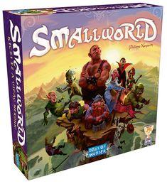 """A játék címe, Small World, """"kicsi világ"""", ami össze is foglalja a játék lényegét: túl sokan vagyunk, túl kevés területre, ezért kénytelenek vagyunk egymástól elvenni.. Small World Board Game, Zombies, World Days, Fantasy Races, Strategy Games, You Gave Up, Jurassic World, Nottingham, Xmas Gifts"""