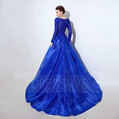 Prom Secure Payment & 30 Days Easy ReturnSecure Payment Days Easy ReturnEvery girl have a wish to the look most beautiful prom queen in gradu Royal Blue Evening Gown, A Line Evening Dress, Evening Dresses, Cheap Formal Dresses, Plus Size Prom Dresses, Prom Queens, Satin Color, Lace Decor, Prom Colors