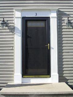 Exterior Door Trim Simple front door trim images - reverse search