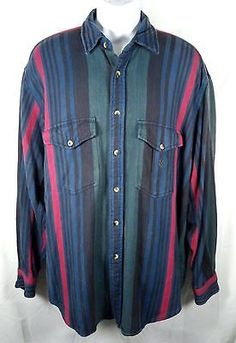 Nautica 100% cotton heavy weight long sleeve button front shirt Sixe XL - on eBay -> http://bayfeeds.com/ebayitem.php?itemid=231520576296
