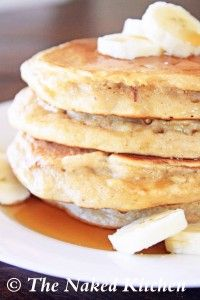 Banana pancakes #healthy