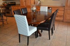 Make slipcovers for chairs