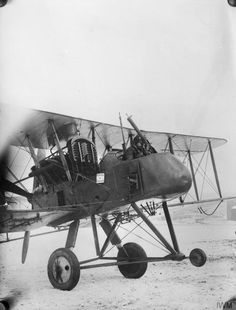 Royal Aircraft Factory F.E.2b two-seat reconnaissance, fighter and bomber pusher biplane.