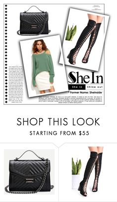 """""""Shein #8"""" by begicdamir ❤ liked on Polyvore featuring WithChic and Whiteley"""