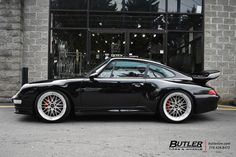 Porsche 993 - Carrera 4S with 19in BBS LM Wheels