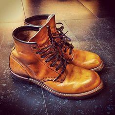 9013 : 経年変化で深い味わいになっているレッドウイングのブーツがかっこいい - NAVER まとめ