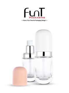 New shape of glass pump bottle for serum, foundation bottle Packaging Solutions, New Shape, Glass Bottles, Packaging Design, Serum, Foundation, Container, Pumps, Skin Care