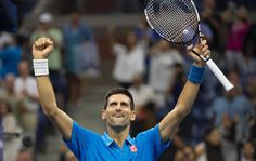 Top seed Novak Djokovic has been starved of competitive action at the U.S. Open but on Sunday the world number one feasted on unseeded Briton Kyle Edmund in a 6-2 6-1 6-4 romp that put him into the quarter-finals.