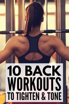 Whether you're trying to target your upper or lower back, like to workout with weights or prefer using no equipment, like exercises you can do at the gym or feel more comfortable at home, this collection of back workouts for women is for you! The routines in these videos will give you a sculpted back and shoulders, and may just be your ticket to kissing your muffin top away once and for all!