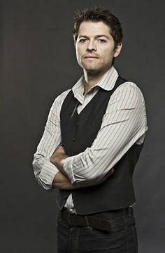 Misha Collins, I've never seen supernatural but this man is adorable regardless.