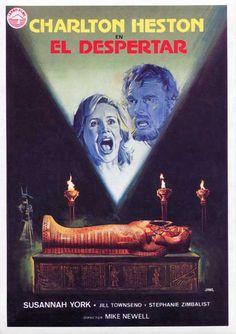 Charlton Heston takes the mummy plunge in The Awakening (1980)
