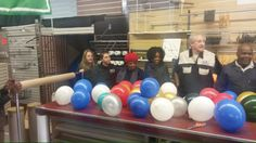 Display Equipment Company - Pty Ltd Hosted it's own in-house draw for the world cup. Individuals were allowed to pop two balloons each with a random World Cup team name inside, at the end of the World Cup if that individual's team won the will receive R500.00! Let the games begin! And good luck to everyone at Display Equipment Company - Pty Ltd as well as all the Soccer Teams at this years World Cup in Brazil!