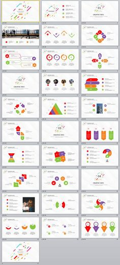 31+ creative infographics business PowerPoint template