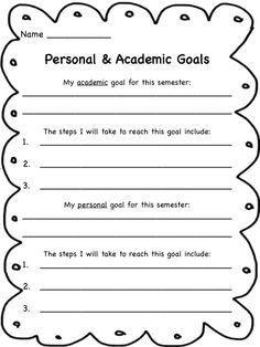 printable worksheets for back to school goal setting goals worksheet goal setting worksheet. Black Bedroom Furniture Sets. Home Design Ideas