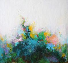 abstract acrylic painting original abstract painting  by artbyoak1, $199.00
