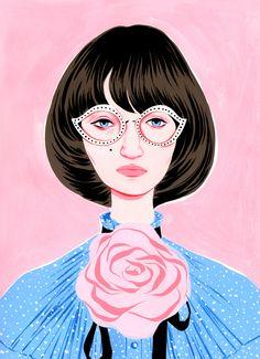 Gucci by bijou karman fashion illustration illustration art, Artsy, Art Inspiration, Illustration Art, Drawings, Love Illustration, Art, Pop Art, Illustration Sketches, Graphic Art