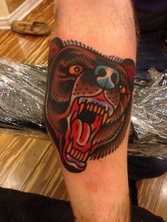 Bear by Franz Stefanik   Tattoo