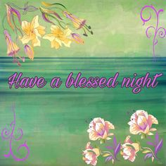 Blessed night