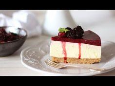 Το πιο εύκολο και αφράτο Cheesecake - The best No Bake Cheesecake Ever - YouTube
