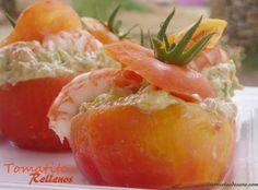 Tomates rellenos de atún claro de Conservas Serrats