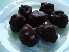 Bocadinhos de Açúcar: Crocantes de chocolate e pistácios