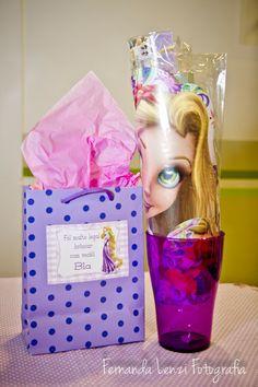 Frescurinhas Personalizadas: Festa da Rapunzel!