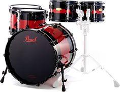Pearl Masterwork Rock Red/Black