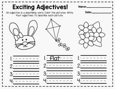 Easter adjectives
