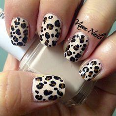 Classic leopard print #nailart
