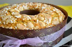 Colomba Pasquale Veloce Bimby • Ricette Bimby Italian Cake, Antipasto, Bagel, Doughnut, Italian Recipes, Nutella, Baked Goods, Oven, Muffin