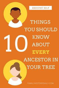 Birth, marriage, death, occupation, religion, number of marriages...there is so much to know about every one of our ancestors. And, while we can't hope to find every detail about every person in our family tree, there are some key things that are more critical to know than others. Use this checklist to make the job of diving deeper into your ancestors' lives a little bit easier.