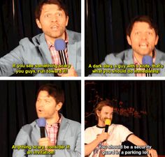 Misha gives advice and Richard tells Misha of another job he can try.