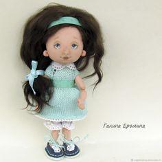 Купить Юленька, текстильная кукла в интернет магазине на Ярмарке Мастеров