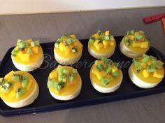 Pasjonsfruktostekake / Passion fruit cheese cake