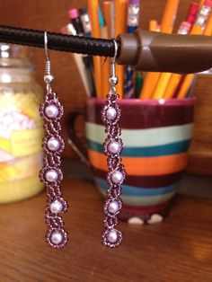 Purple Pearls by JewelryByGenny on Etsy, $8.00