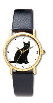 Black Cat Watch Size Suitable for Women or Children Novelty. $29.95. Black Cat Watch
