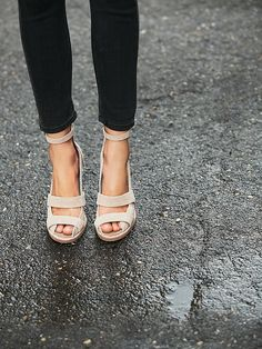 Jeffery Campbell Dakota Wedge at Free People Clothing Boutique