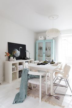 Tina Fussell's lovely Danish home