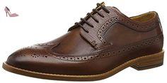 Sebago Collier Wing Tip, Brogues Homme, Marron-Marron (Cuir Marron), 45.5 EU - Chaussures sebago (*Partner-Link)